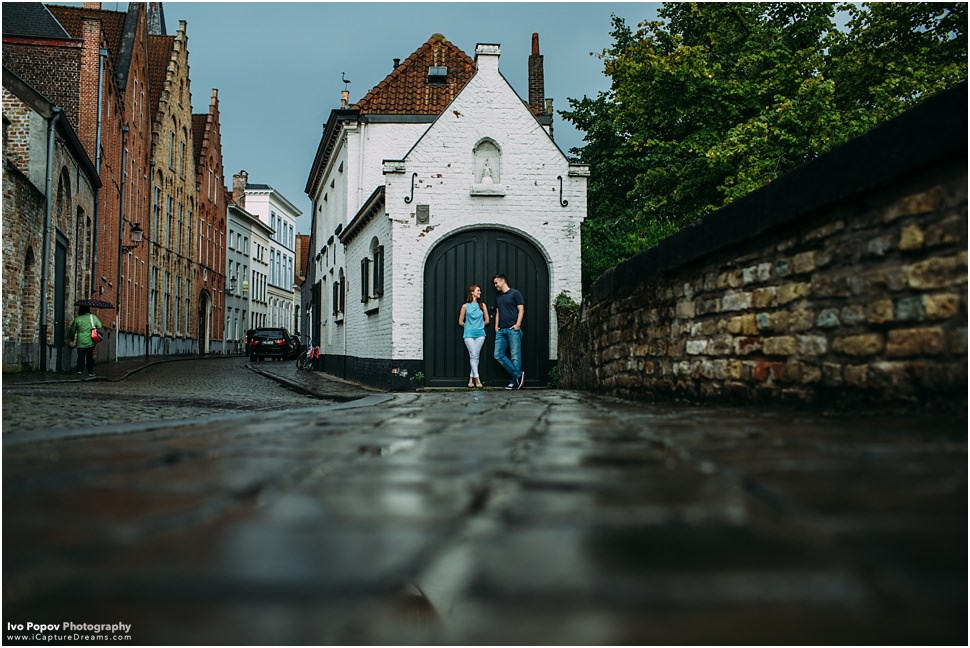 Bruges Engagement Photographer Ivo Popov Photography