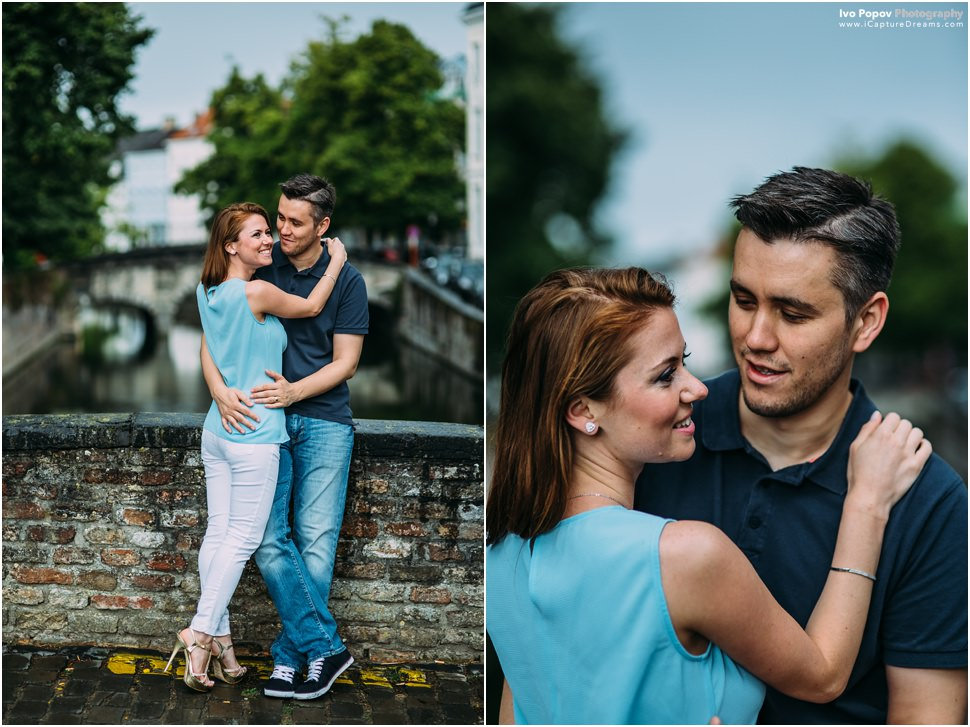 Gorgeous couple portraits in Bruges