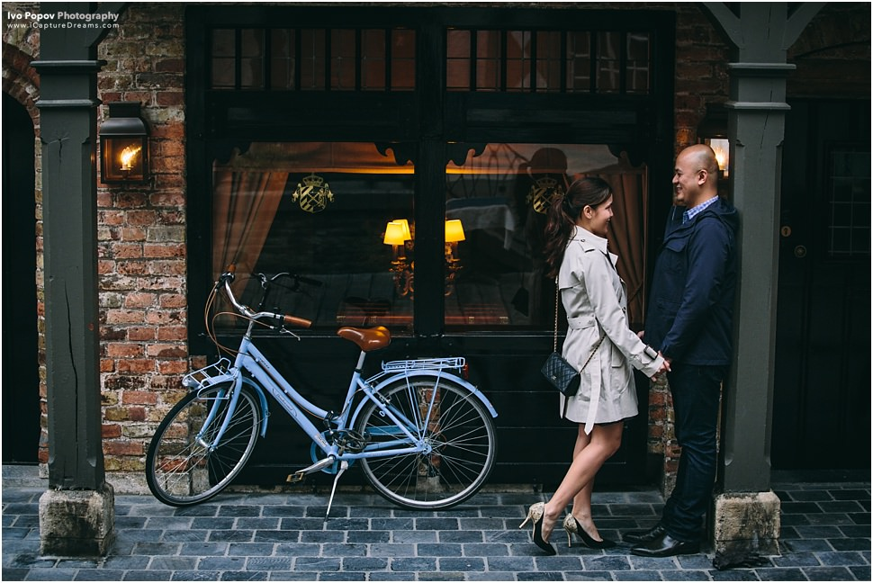 Romantic Marriage proposal in Bruges