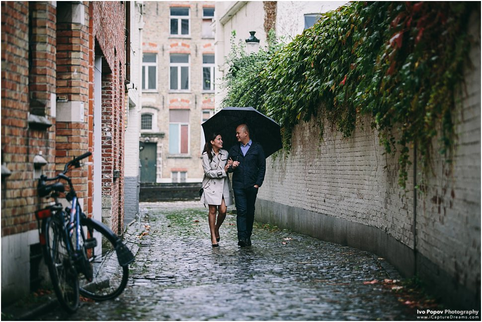 Photographer in Bruges