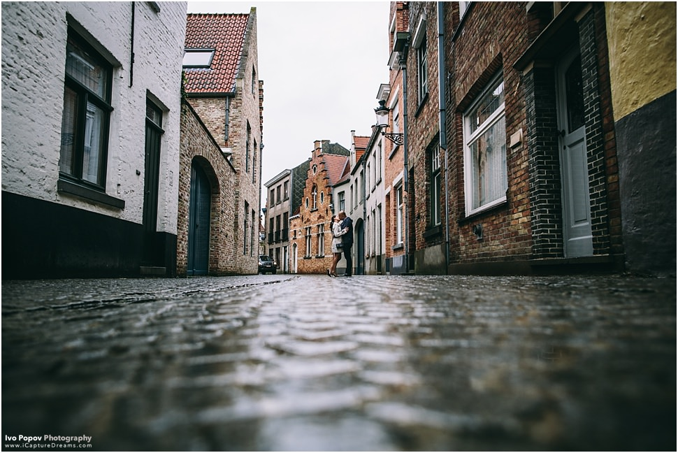 Romantic Mariage proposal in Bruges