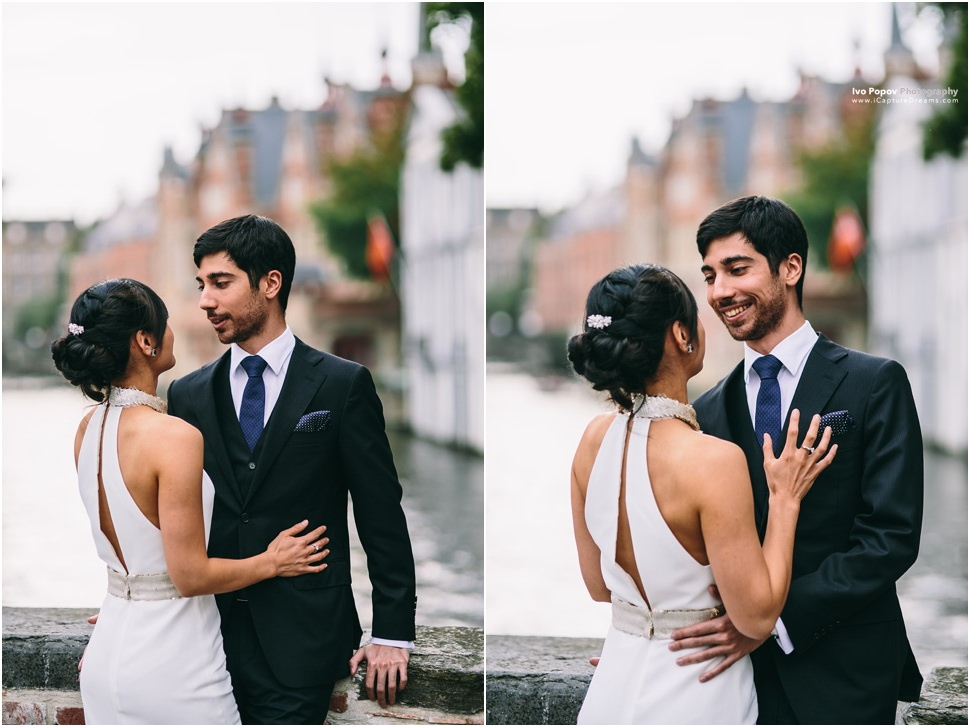 Dreamy pre-wedding session in Bruges