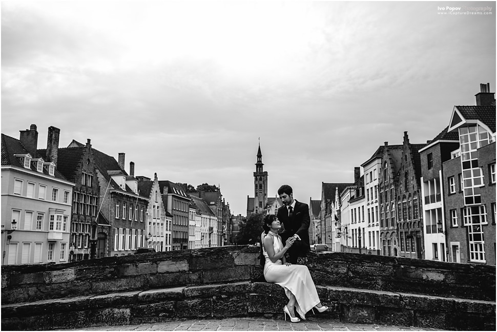Romantic photos in Bruges