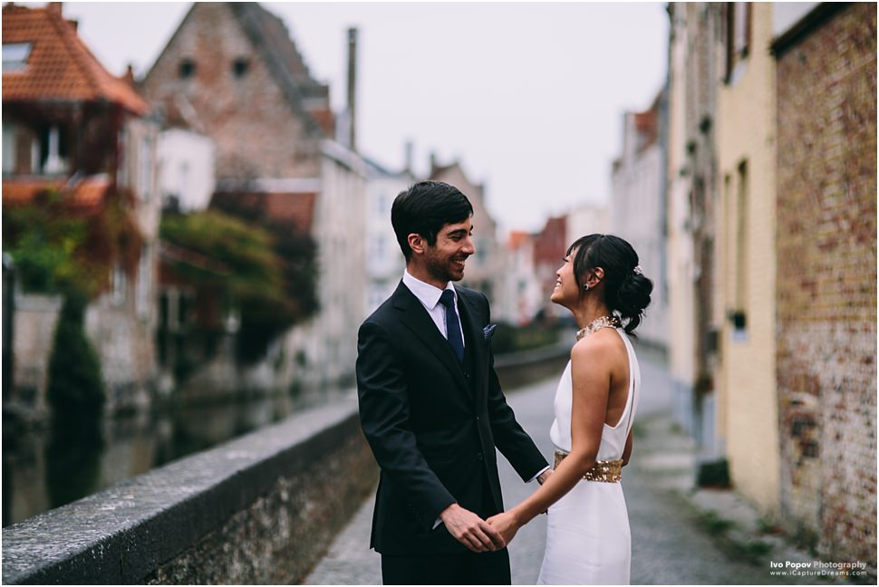 Pre-Wedding photography in Brugge