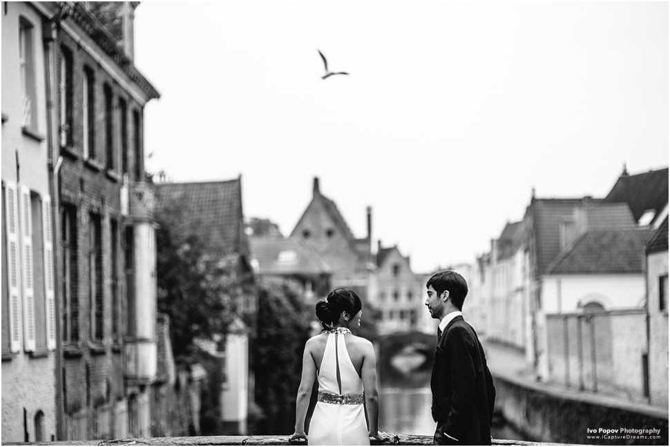 Pre-Wedding photography in Bruges