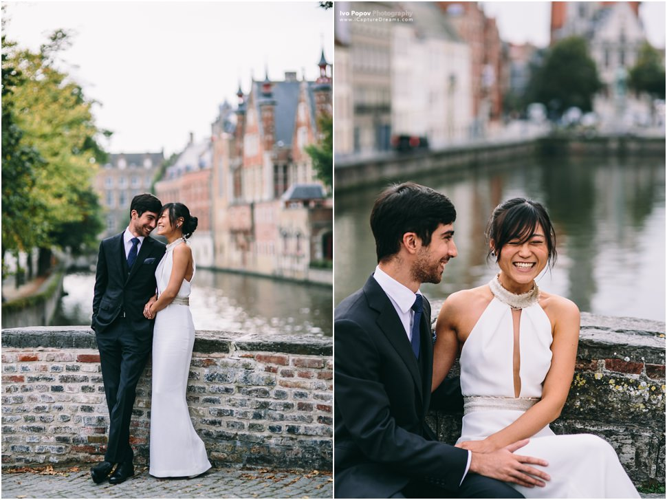 Pre wedding photographer in Bruges