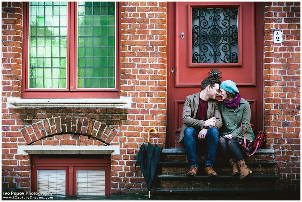 Engagement session in Bruges