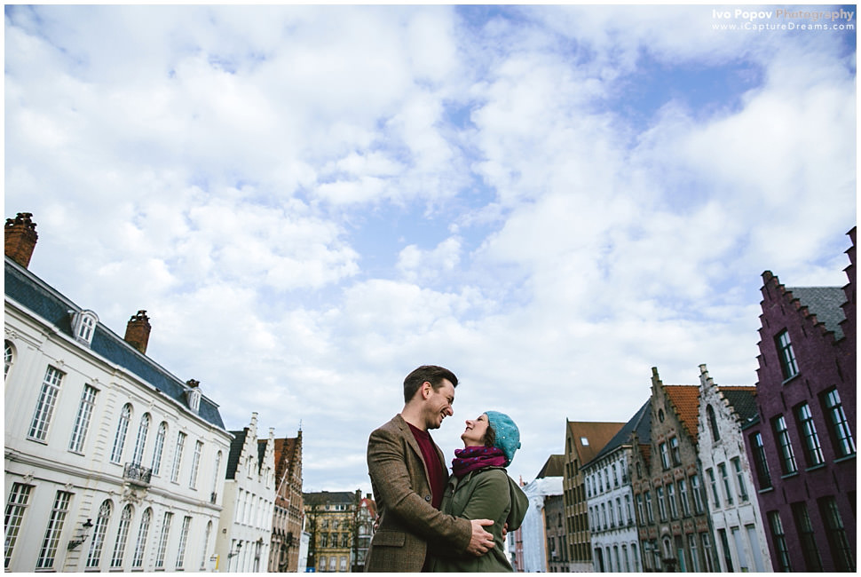 Bruges Engagement Photographer Ivo Popov
