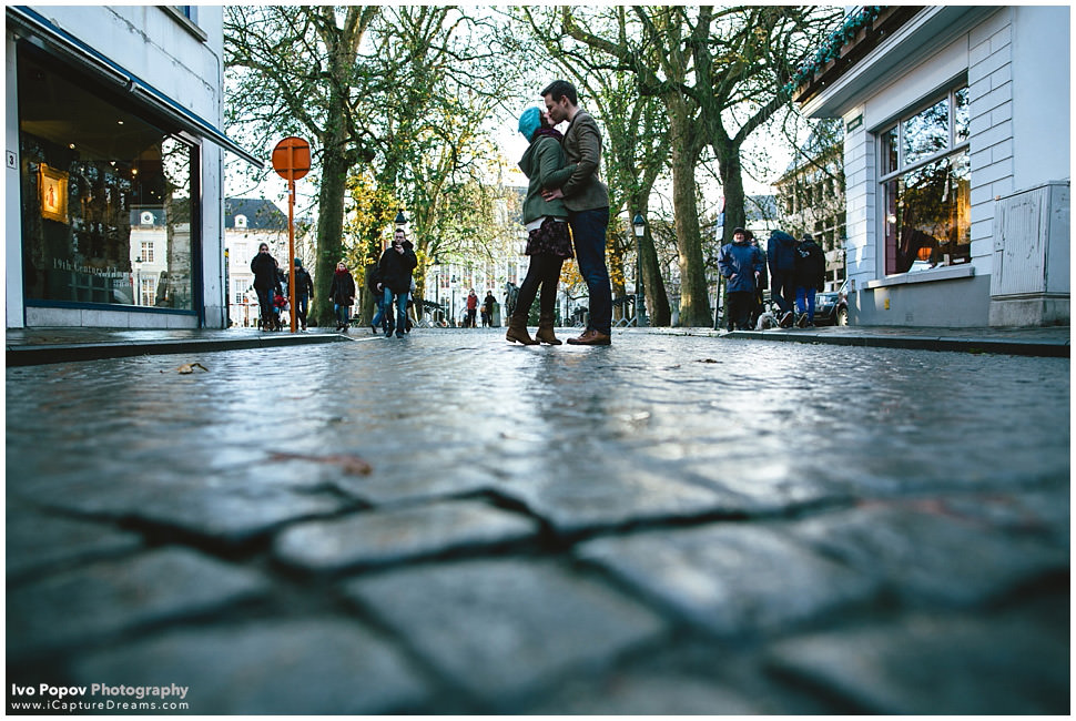 Amazing Engagement session in Bruges