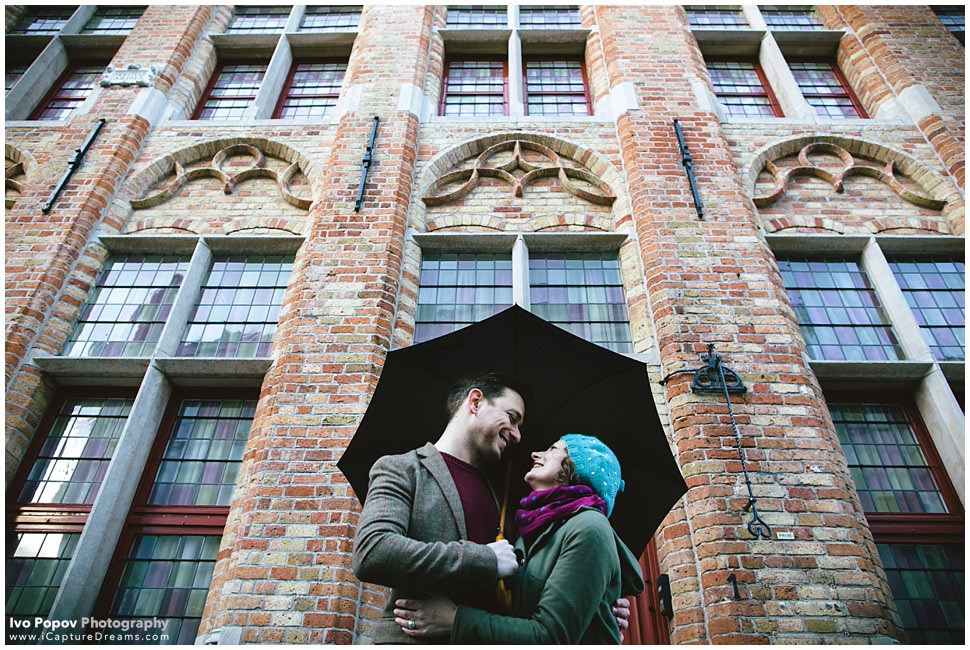Best Engagement photographer in Bruges