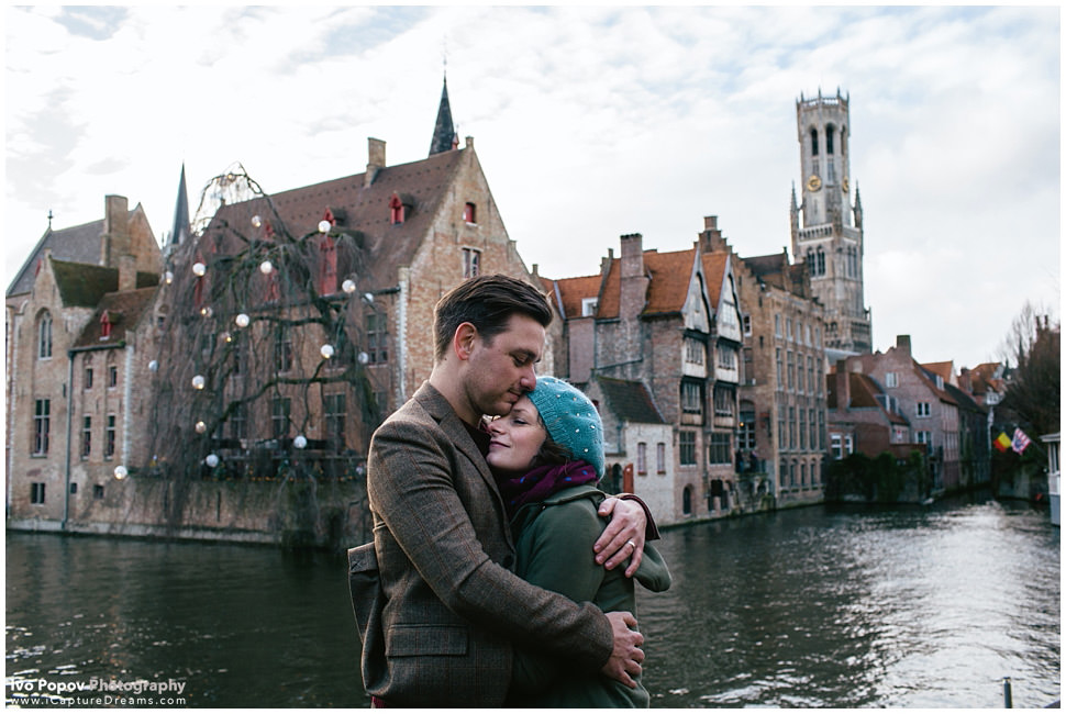Very romantic Engagement session in Bruges