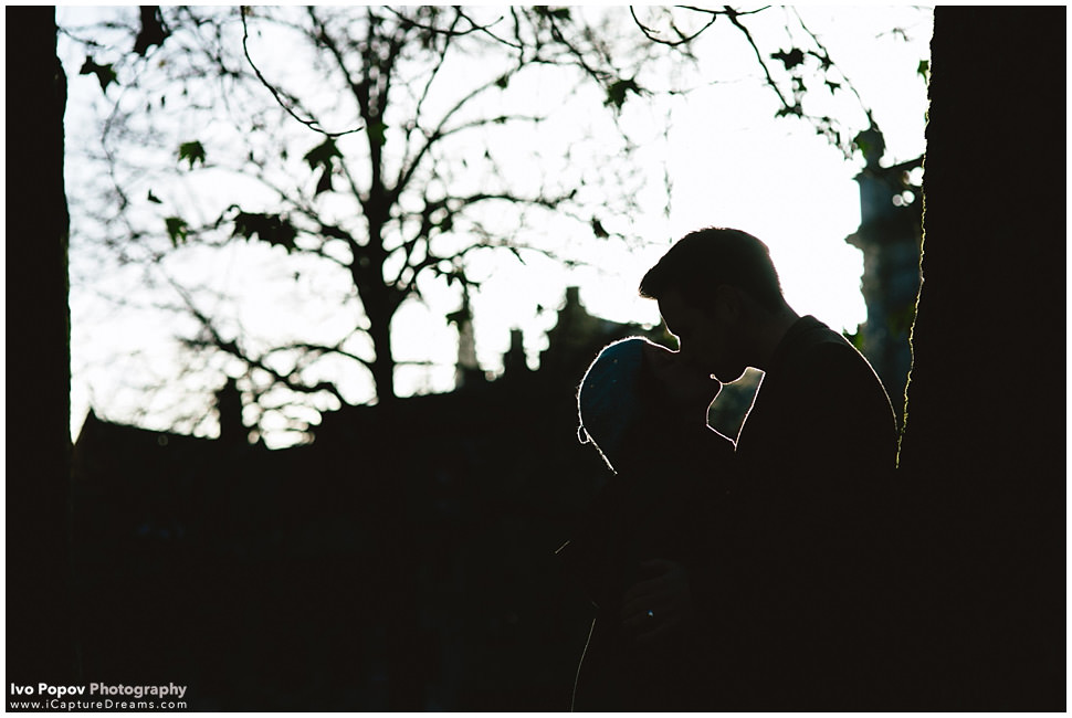 Photographer for engagement session in Bruges