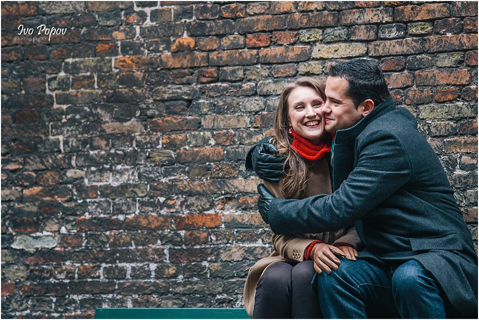 Amazing Engagement photo session in Bruges