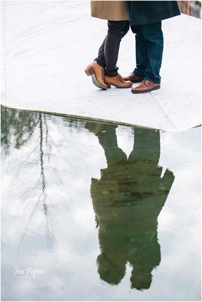 Modern Engagement photo session in Bruges by Ivo Popov Photography