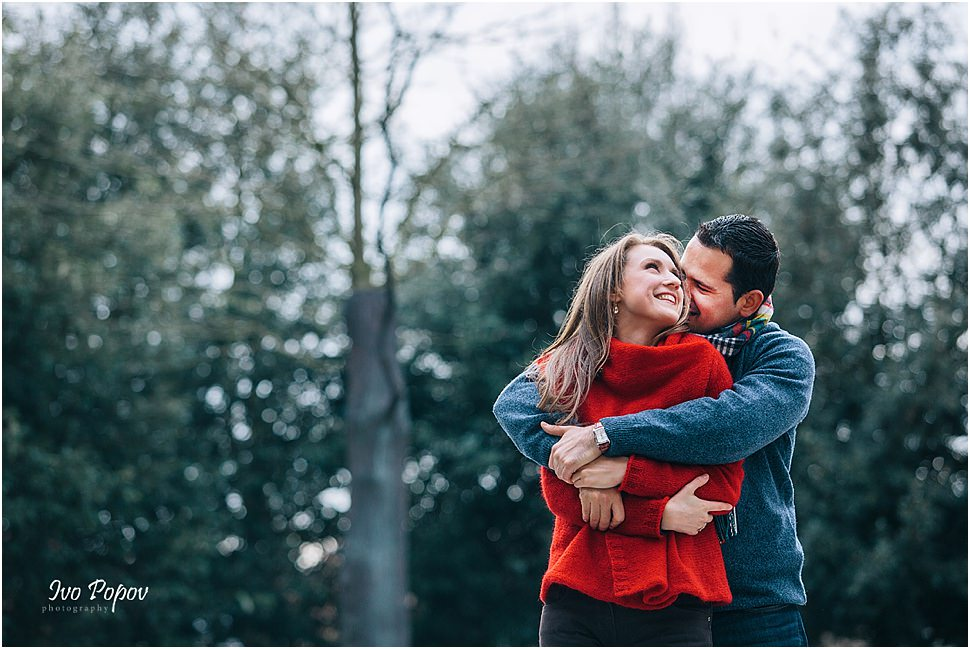 Cute Engagement photo session in Bruges by Ivo Popov Photography