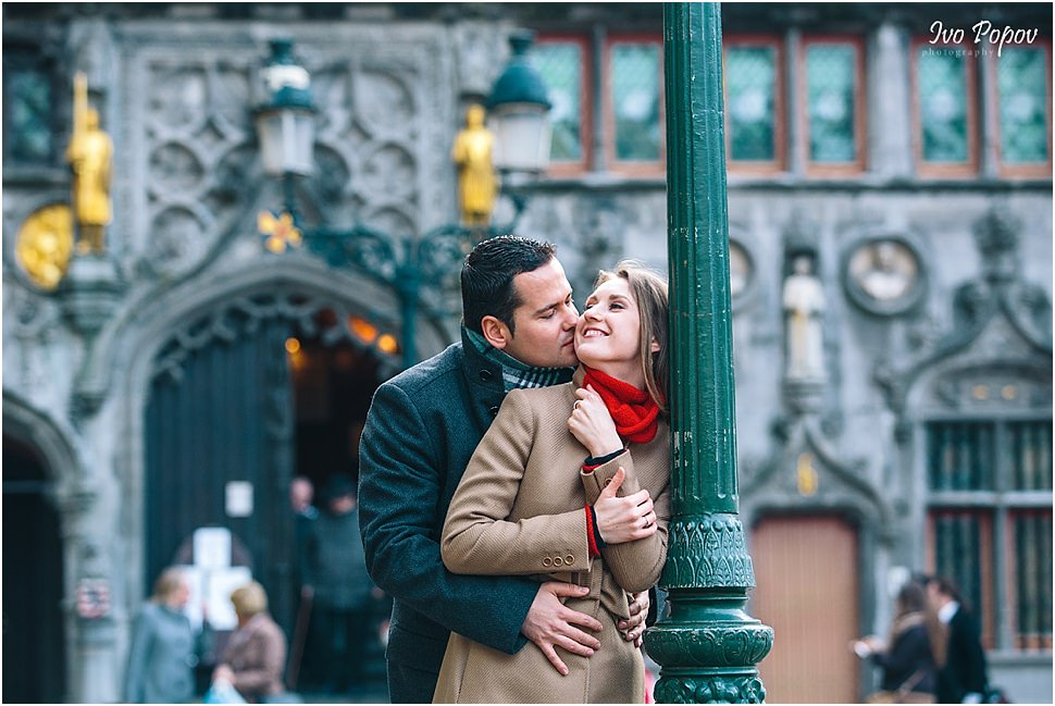 Engagement photographer in Bruges