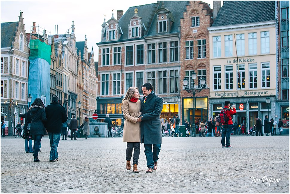 Professional photographer in Bruges