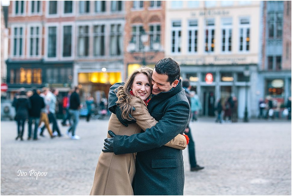Engagement and wedding photographer in Bruges