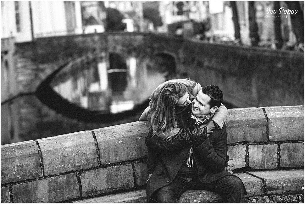 Happy and in love in Brugge