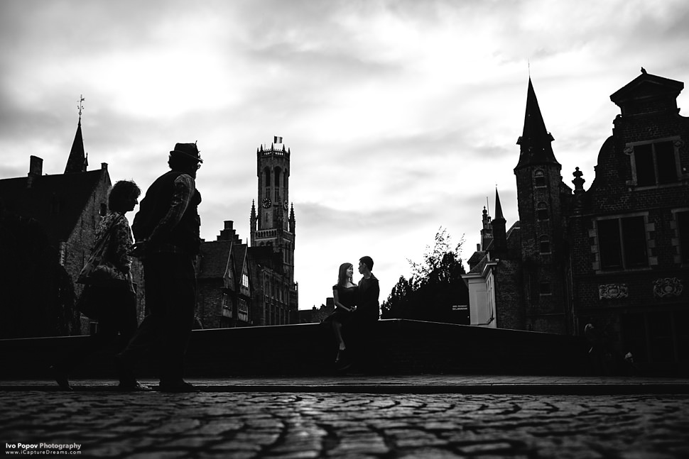 Creative photos in Bruges