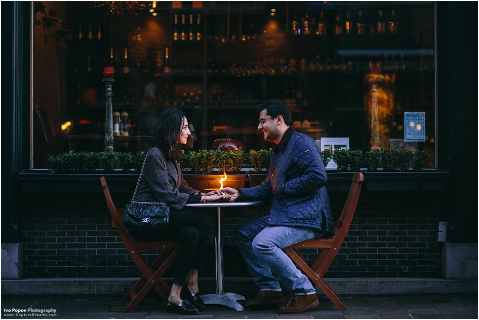 Romantic restaurant in Bruges