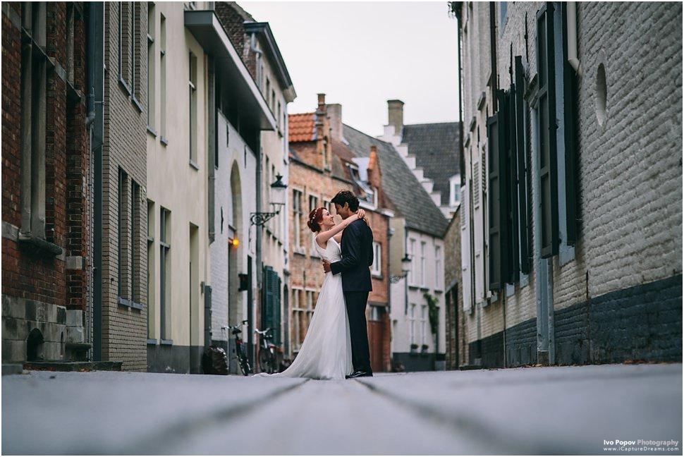 Wedding photographer in Bruges