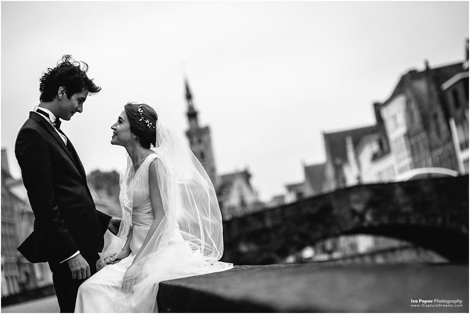 In Bruges wedding images