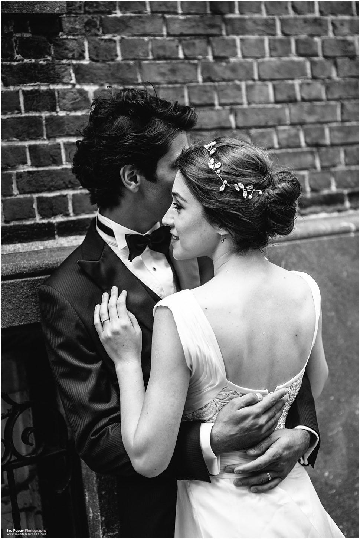 Boho wedding dress in Bruges