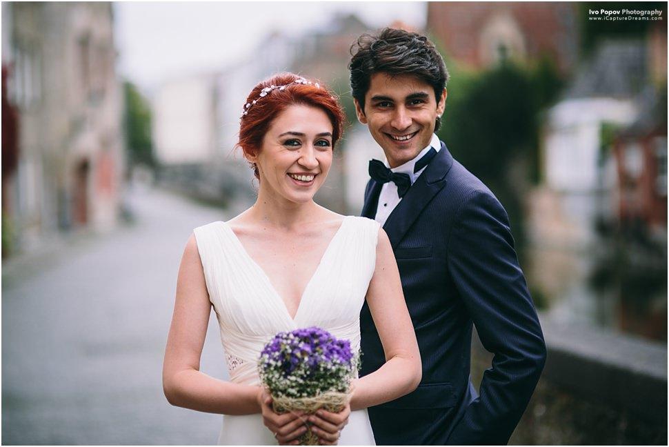 Boho style wedding in Bruges
