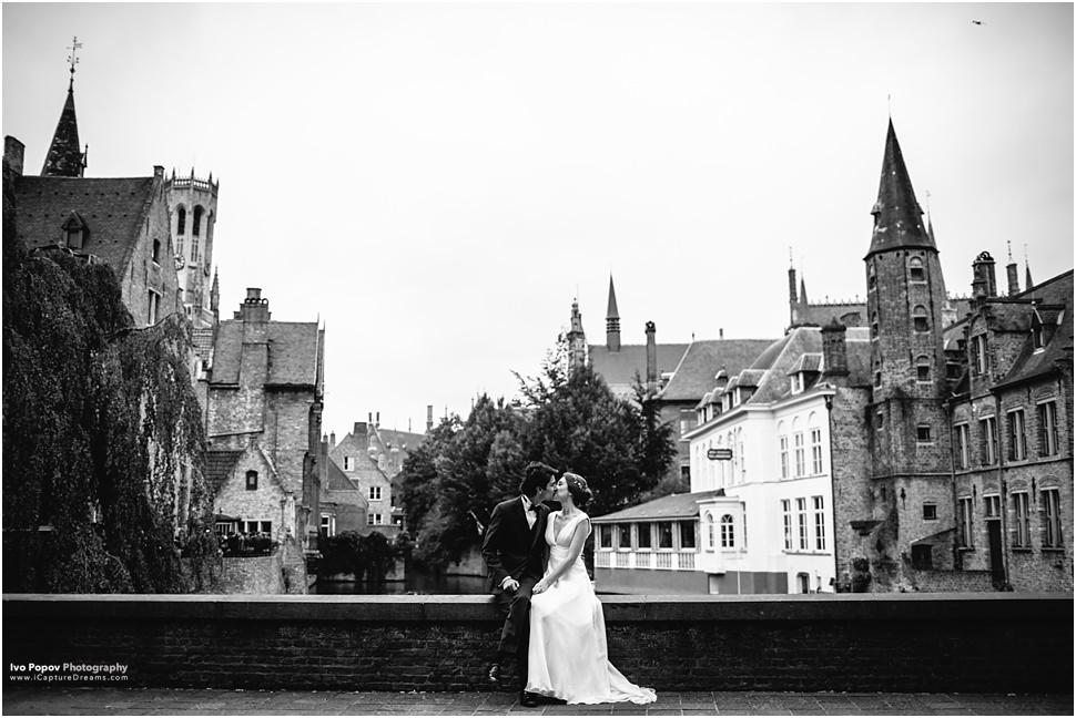 Bruges wedding photographer Ivo Popov