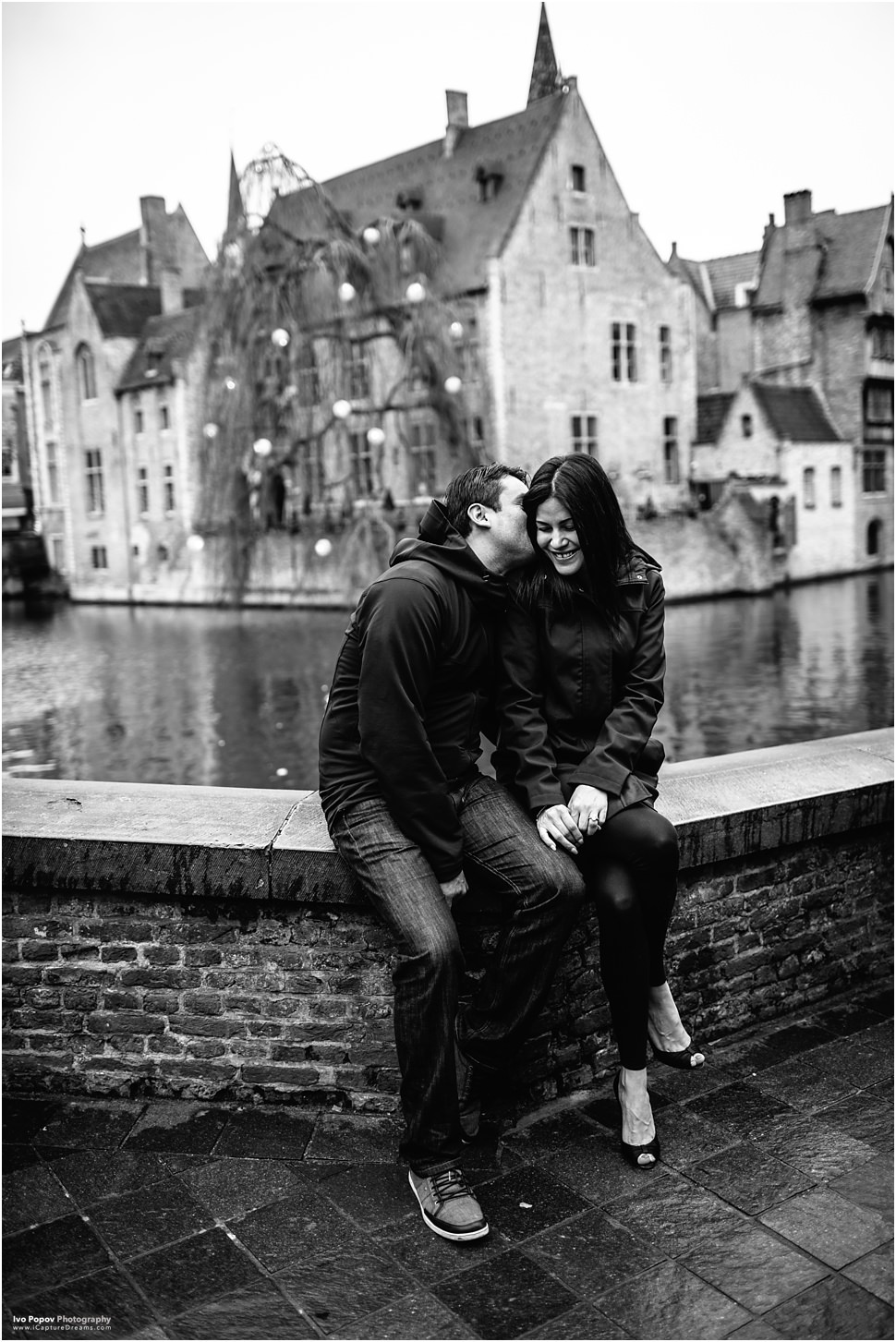 Romantic photo session in Bruges with Ivo Popov Photography