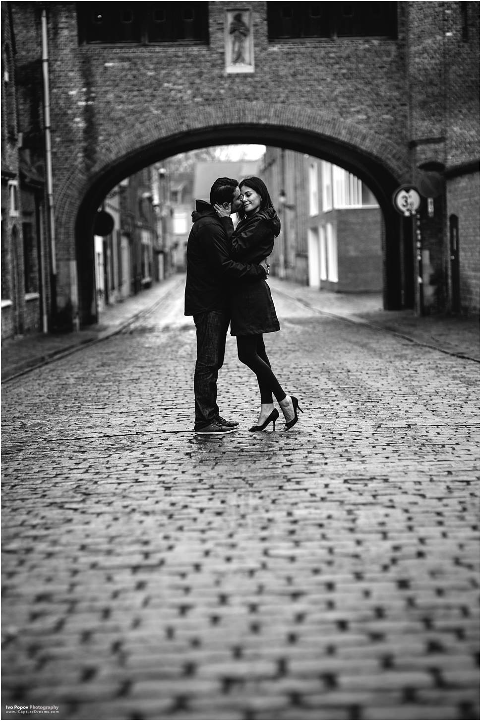 Couple photo session in Bruges