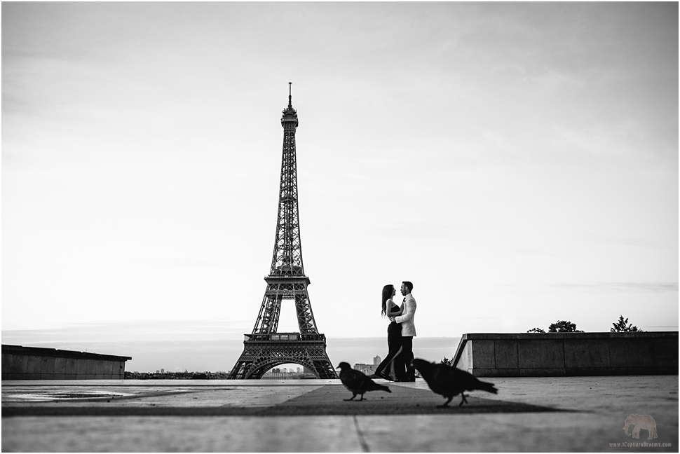 Creative wedding photography in Paris