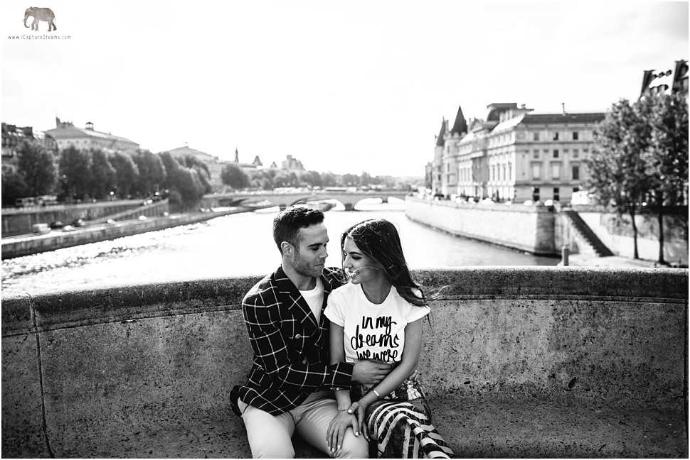 Great engagement images in Paris