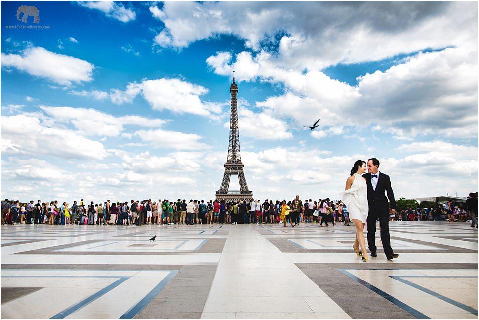 Creative photographer in Paris