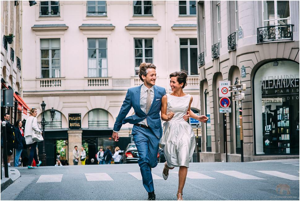 Romantic photos in Paris