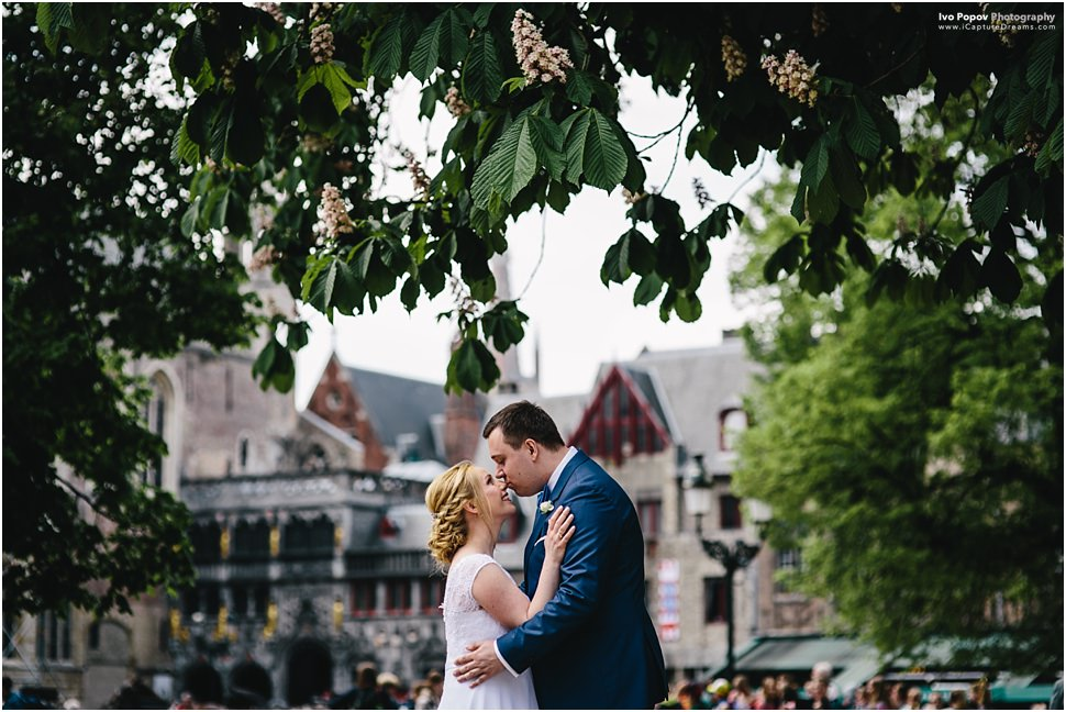 Beautiful wedding in Bruges