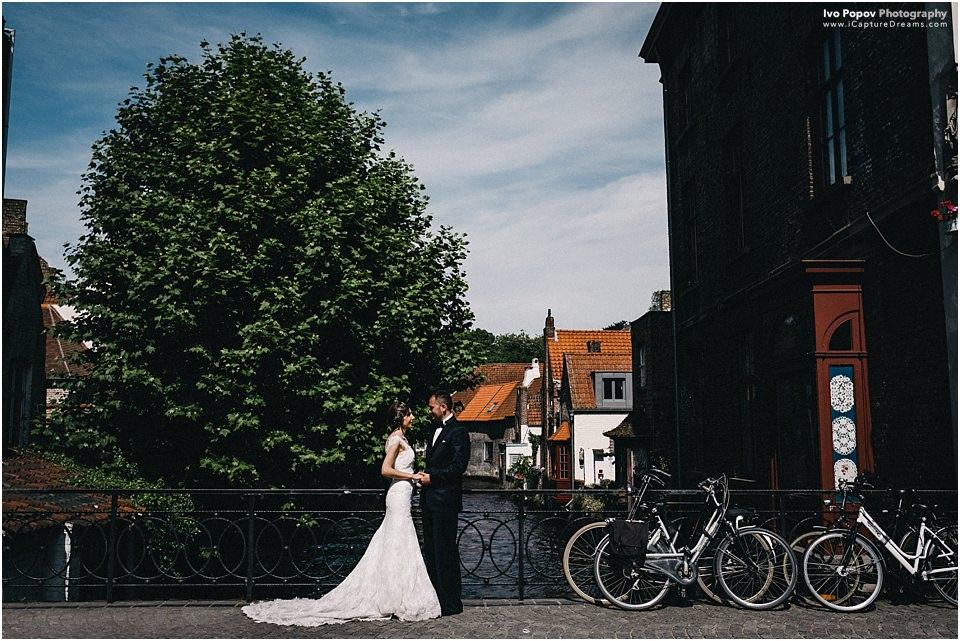 Summer photo session in Bruges