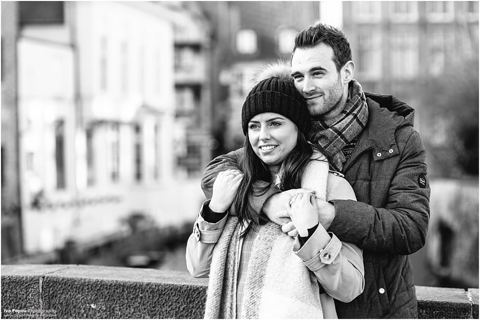 Winter photo session in Bruges