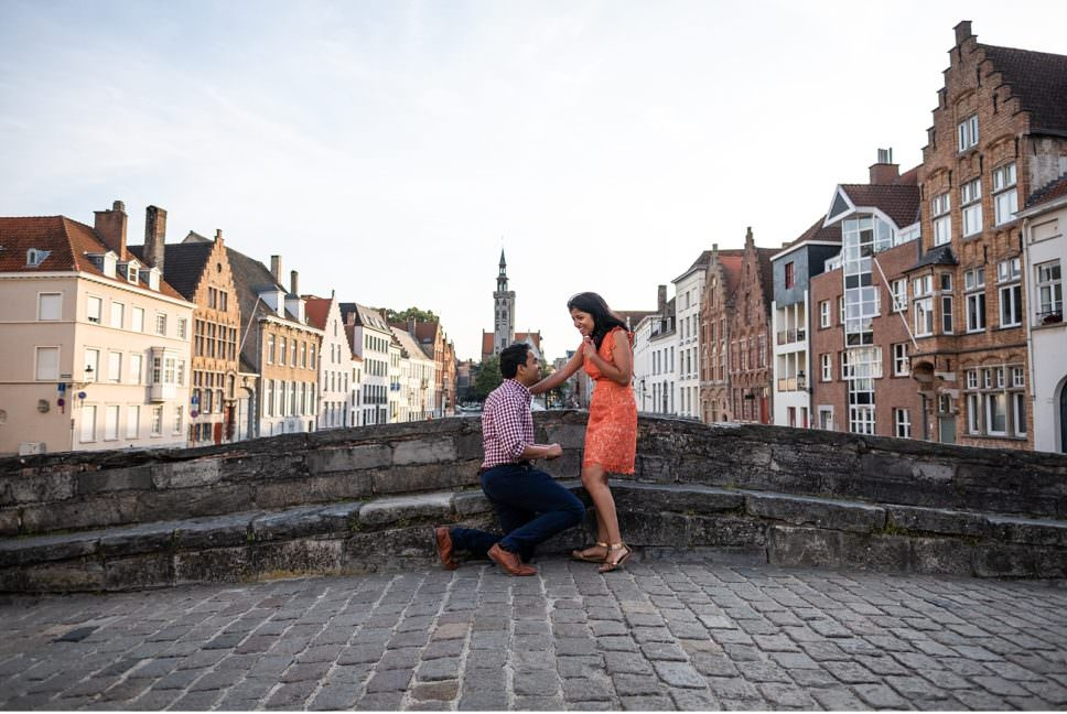 10 romantic spots to propose in Bruges