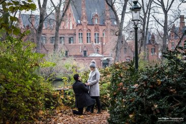 Awesome spots for proposal in Bruges