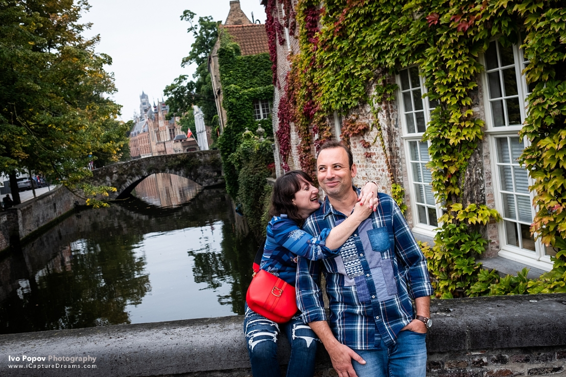 Autumn photo session in Bruges