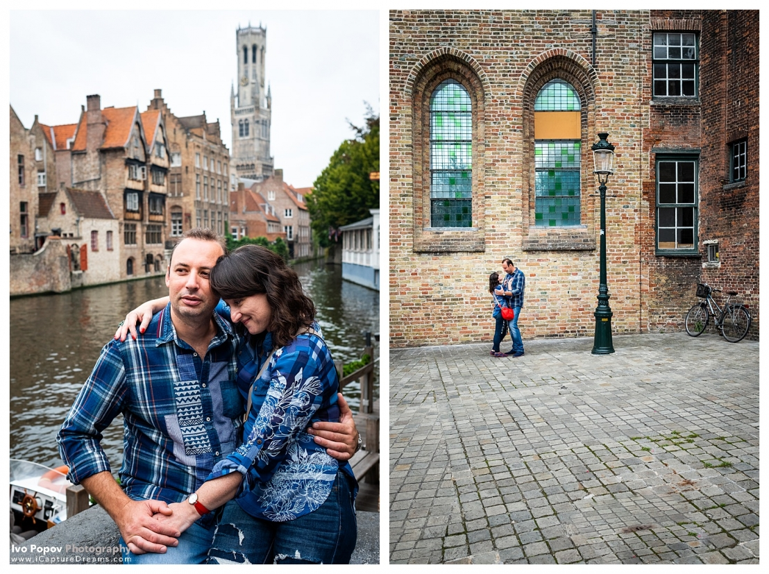 Autumn Couple session in Bruges