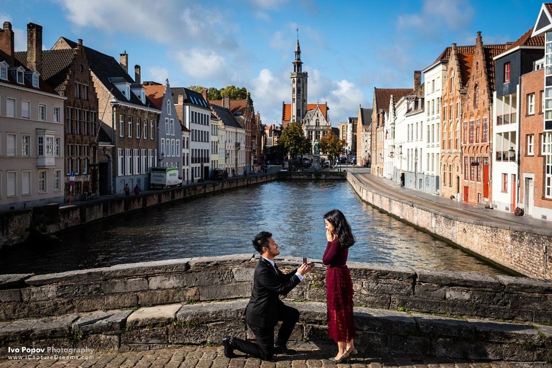 Bruges pre-wedding session